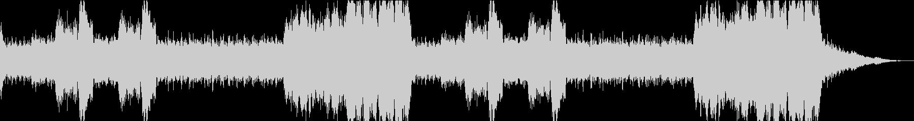 ワクワクしてくるBGM4の未再生の波形
