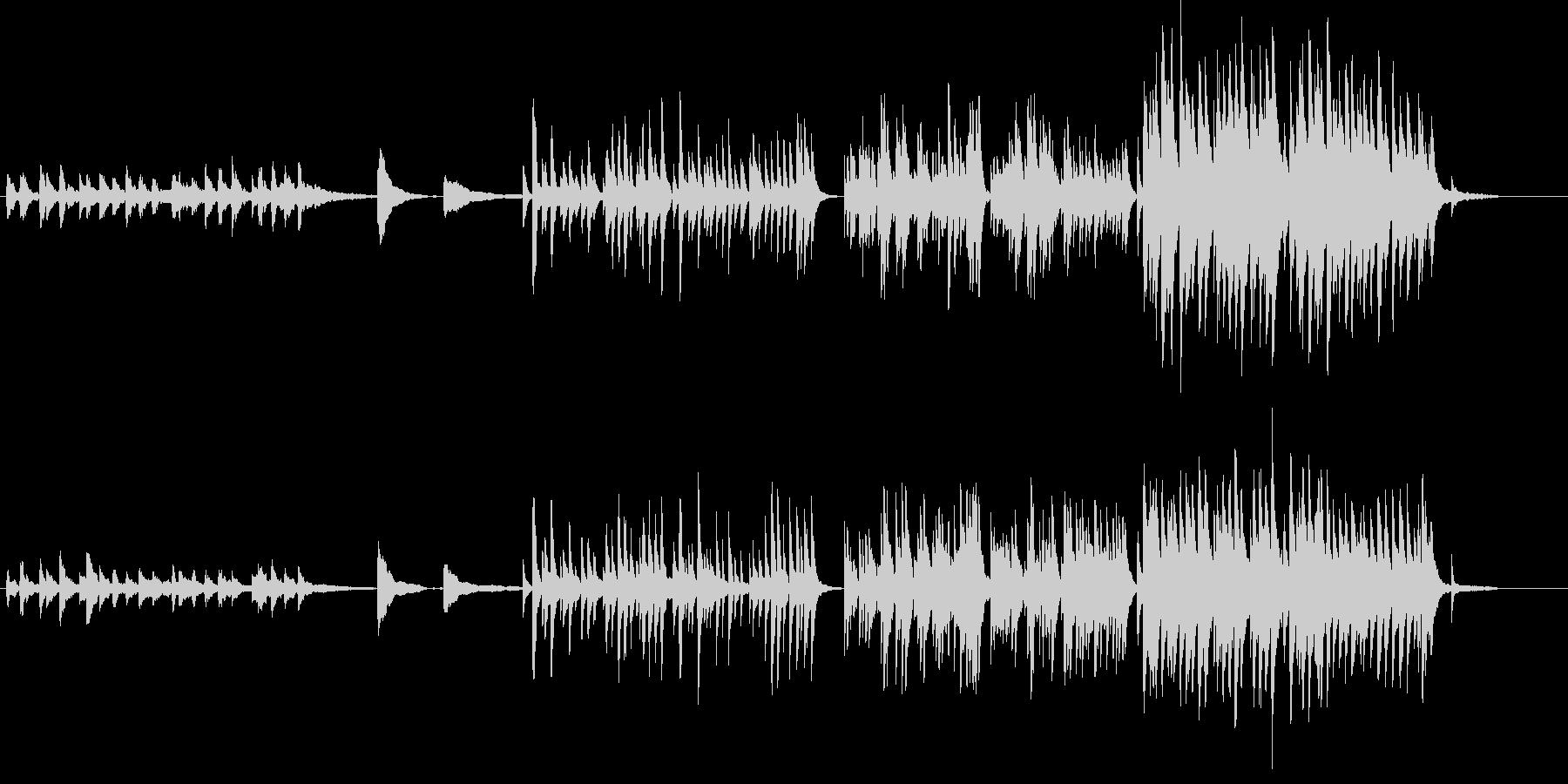 童話世界のBGM-Piano Ver.-の未再生の波形