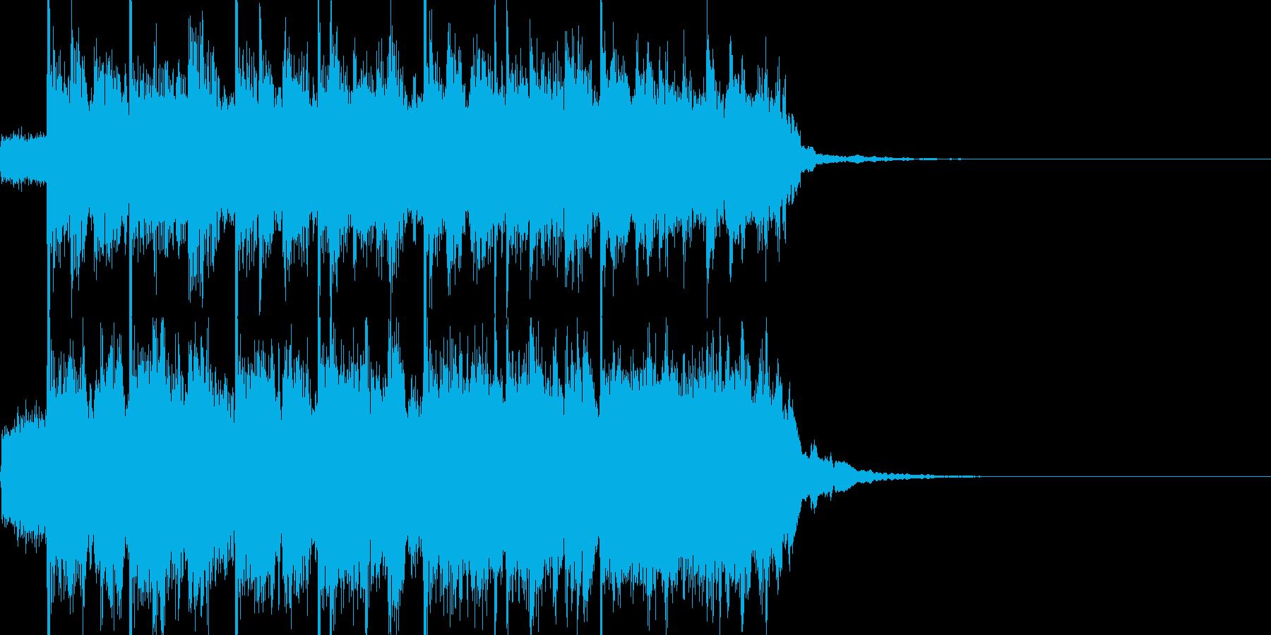 かっこいいサウンドの再生済みの波形