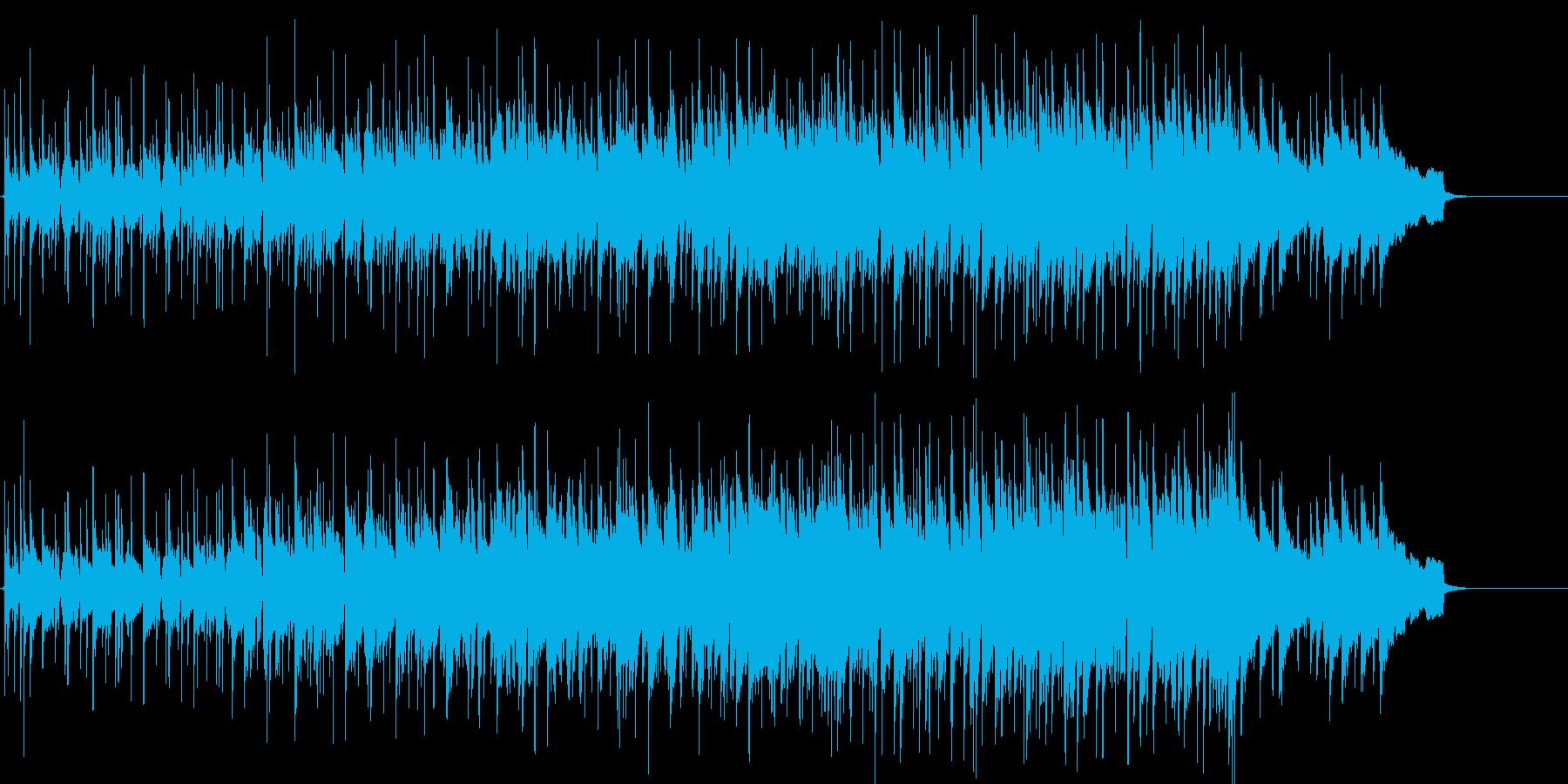 軽快 ショータイム 躍動 にぎやか 情報の再生済みの波形