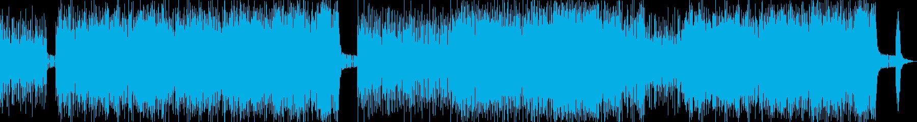 ヘヴィ+ストリングスのバトル曲の再生済みの波形