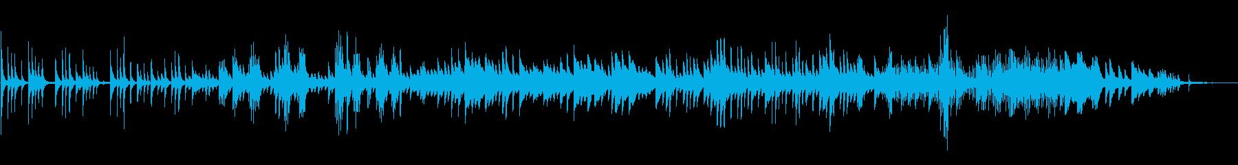 ピアノ ヒーリング 切ない 感動の再生済みの波形