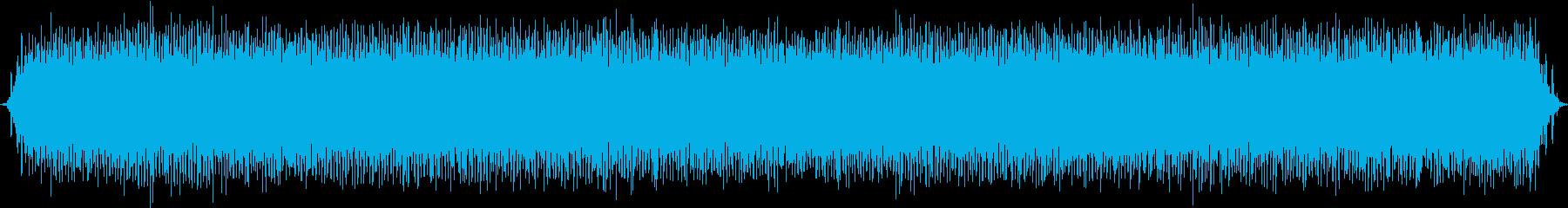 使用中のミシン-高速の再生済みの波形