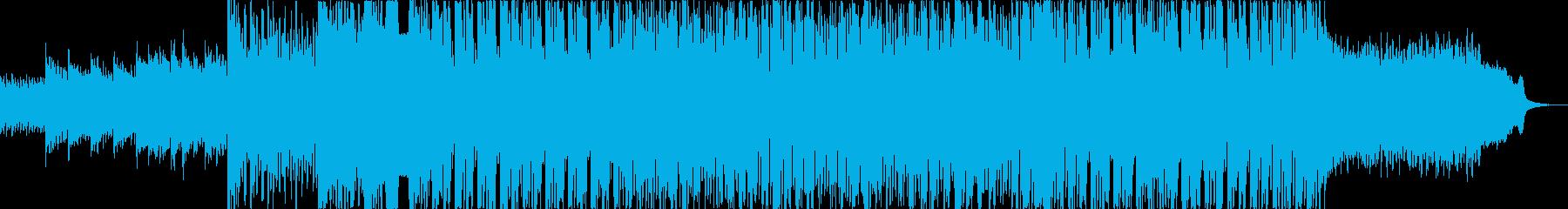 EDM心地良く華やかで刺激的なサウンドの再生済みの波形