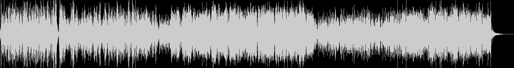 フォーキーなカントリー風BGMの未再生の波形