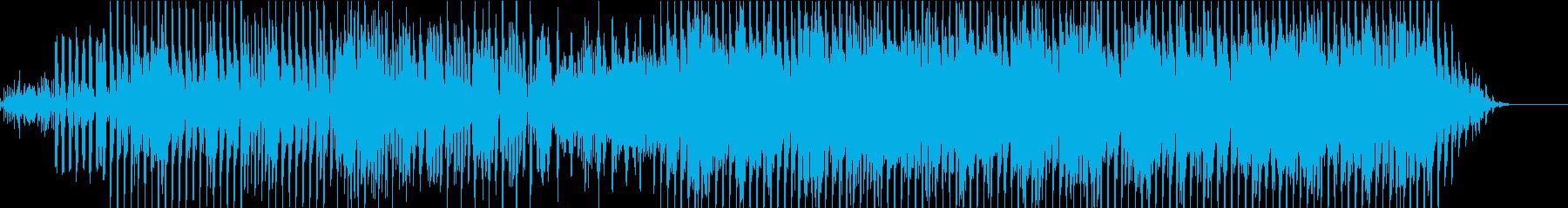 少しダークで軽快なテクノポップの再生済みの波形
