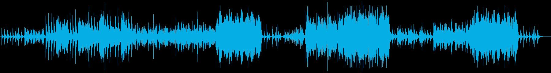 ピアノと木管楽器 ほのぼのポカポカの再生済みの波形
