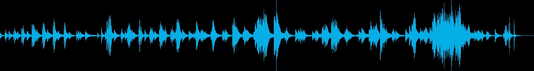独り酒(ピアノソロ・悲しい・哀愁・夜)の再生済みの波形