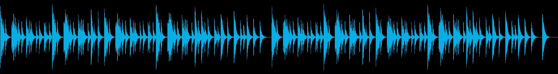 シリアス・不安なオルゴールの再生済みの波形
