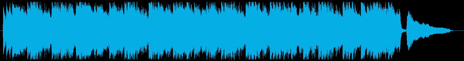 爽やかな朝っぽいアコギポップの再生済みの波形