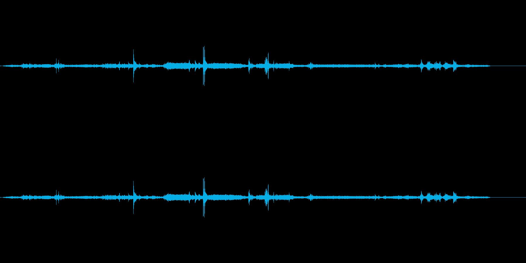 預金(1)、一般大気の再生済みの波形