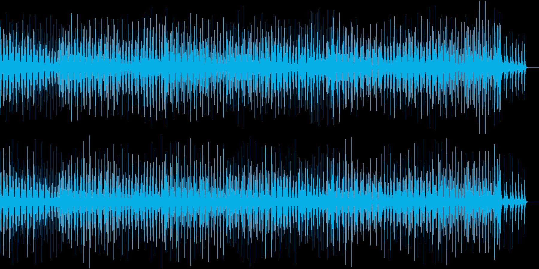 ゆったりして滑らかなジャズの再生済みの波形