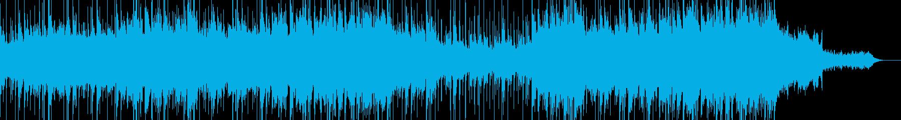 ダイナミックなパーカッション、スト...の再生済みの波形