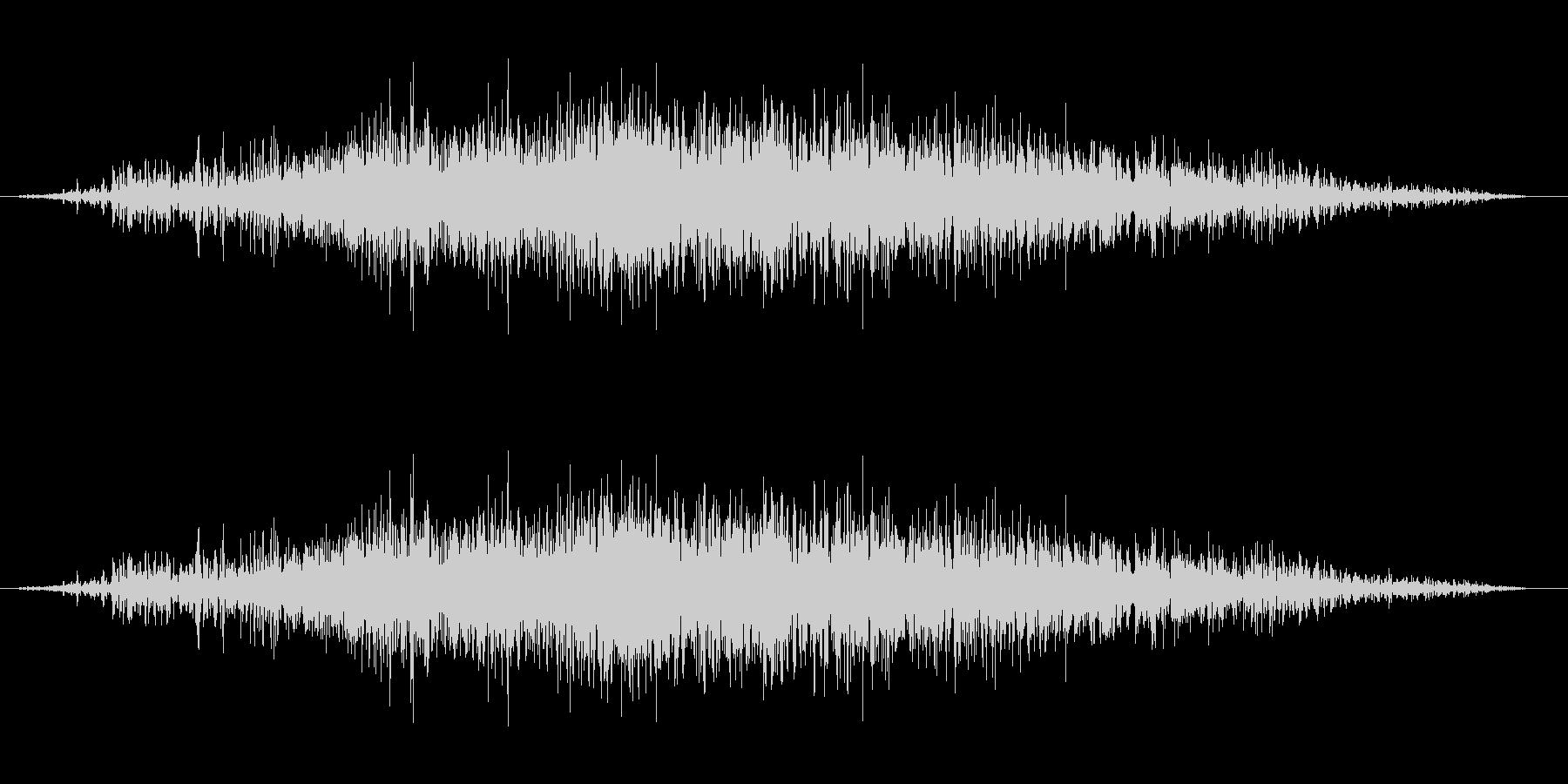 ギュルギュルギュルの未再生の波形