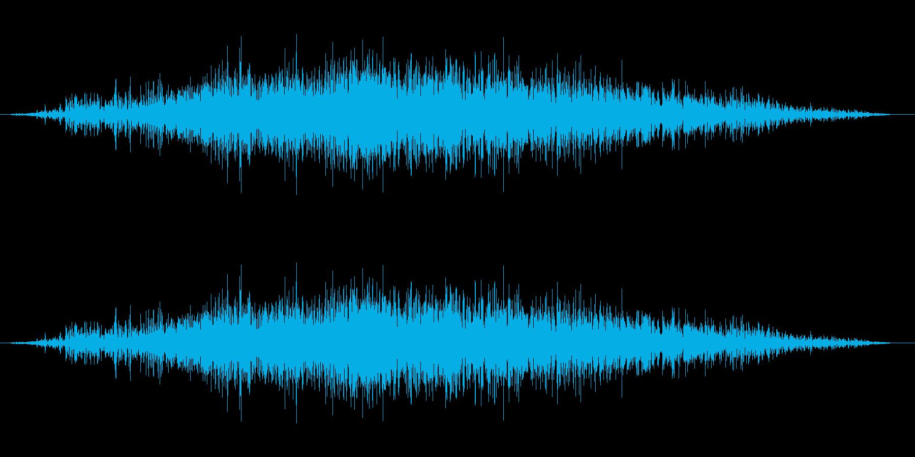 ギュルギュルギュルの再生済みの波形