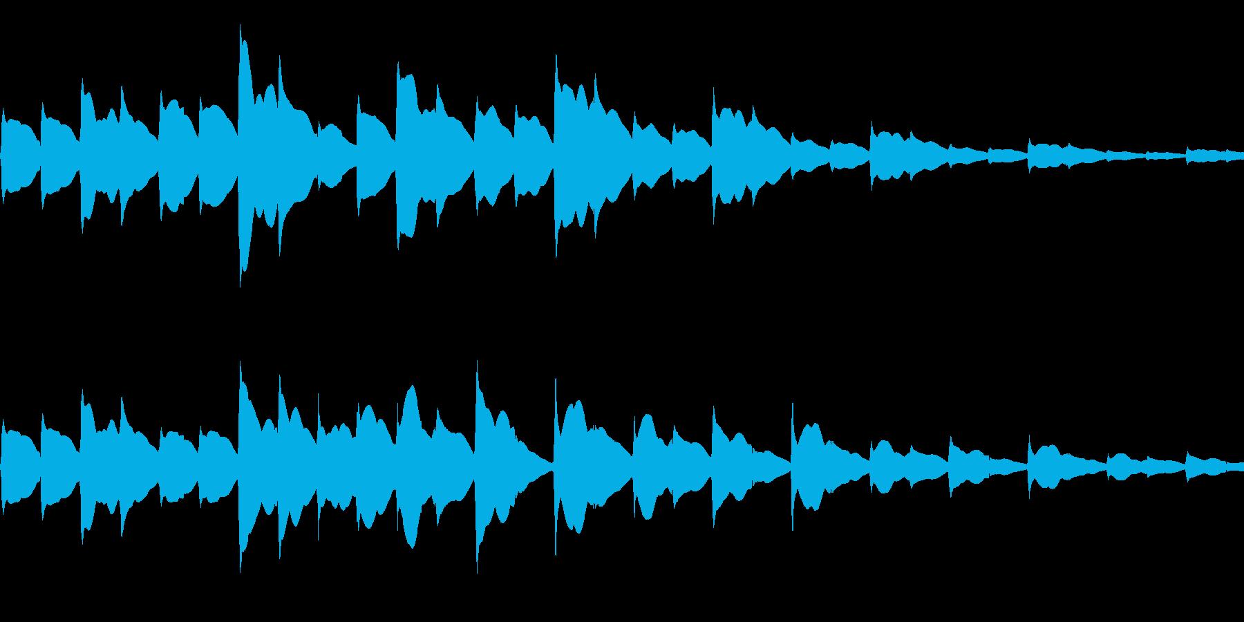 場面転換で使えそうなピッピッピッの音の再生済みの波形