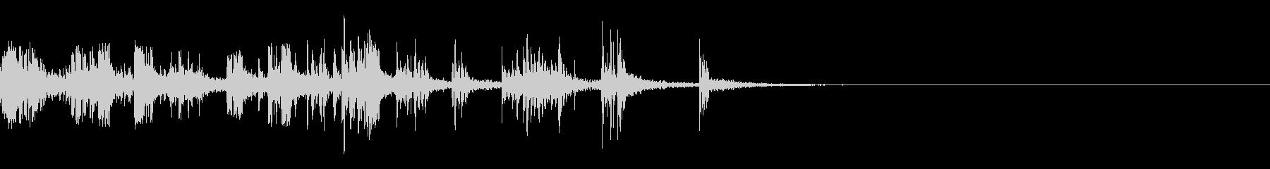スパーク音-22の未再生の波形