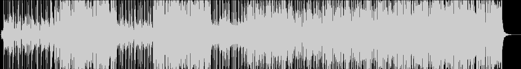 アコーディオンの暖かい雰囲気のBGMの未再生の波形