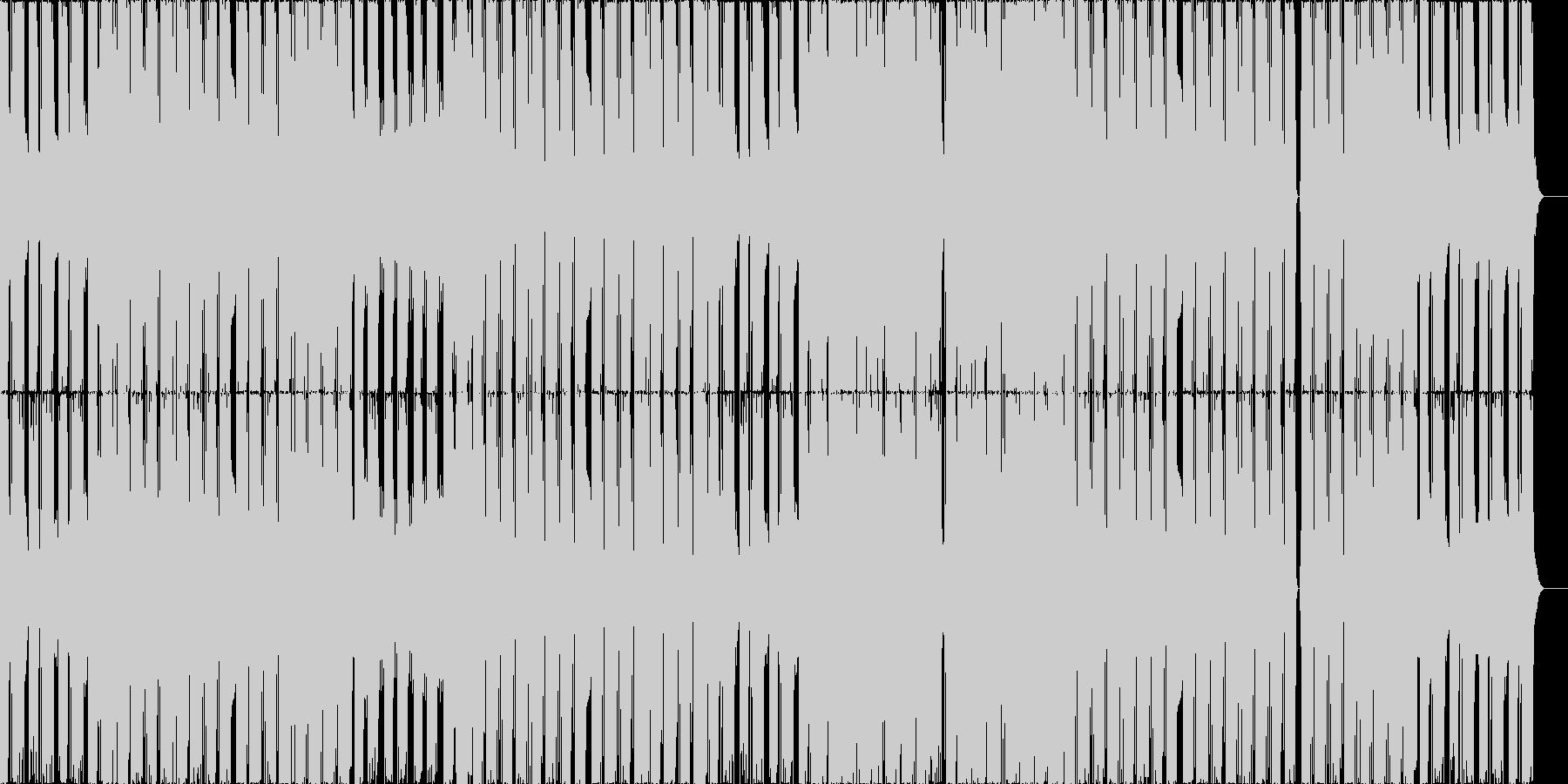 キラキラとしたシンセが爽快なEDMの未再生の波形
