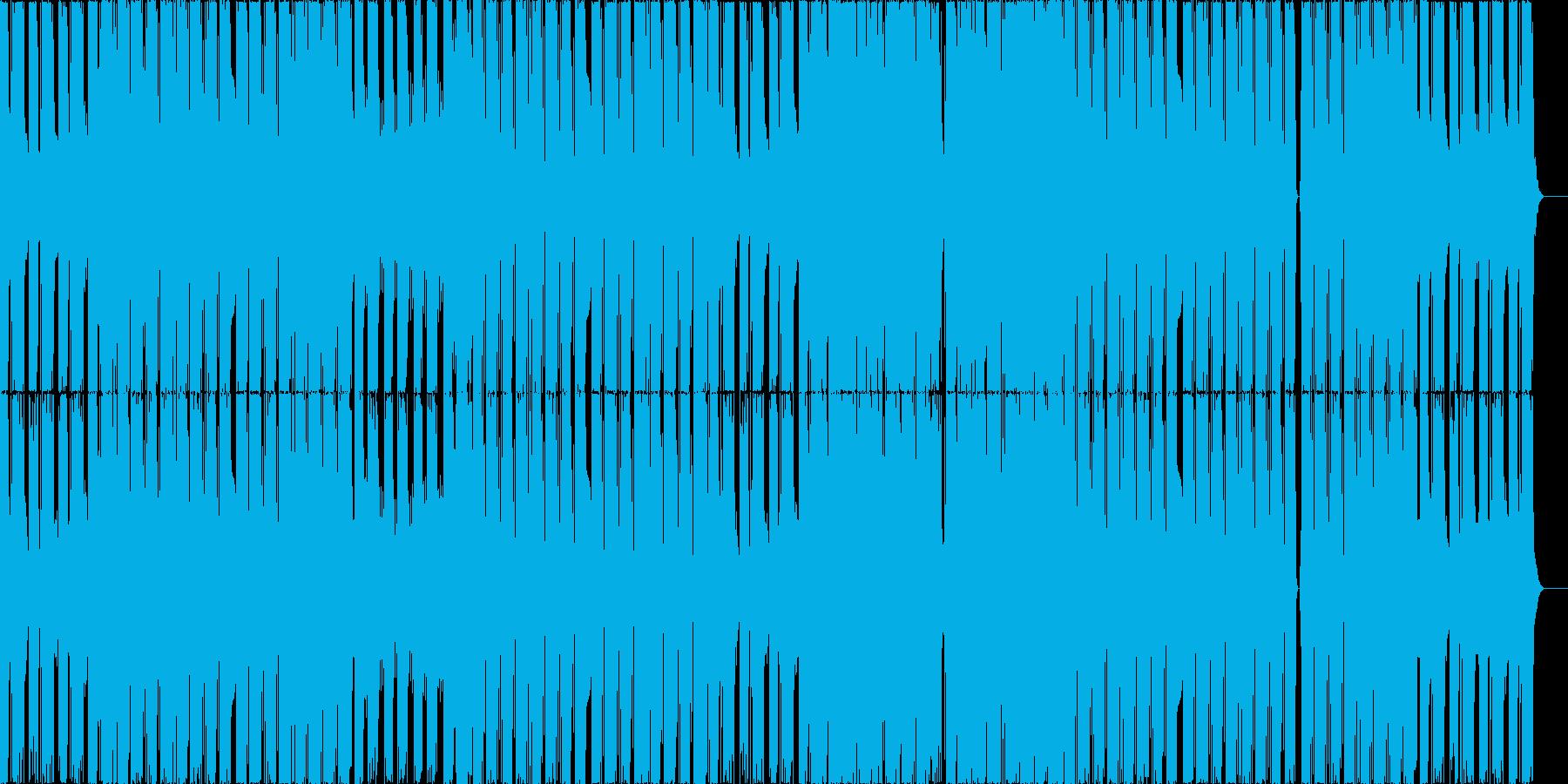 キラキラとしたシンセが爽快なEDMの再生済みの波形