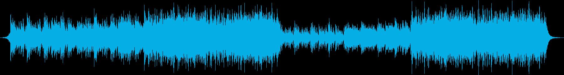ピアノ・美しいメロディー・オーケストラの再生済みの波形