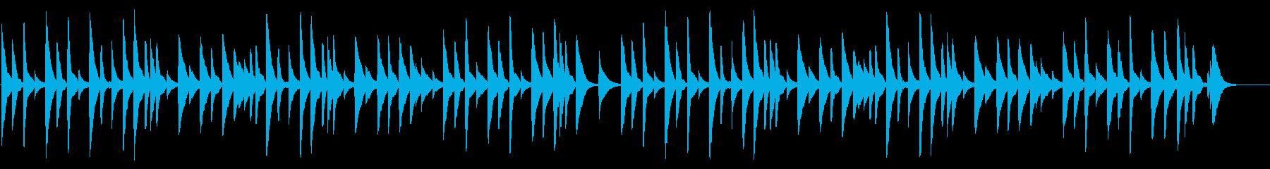 さくら さくら 18弁オルゴールの再生済みの波形