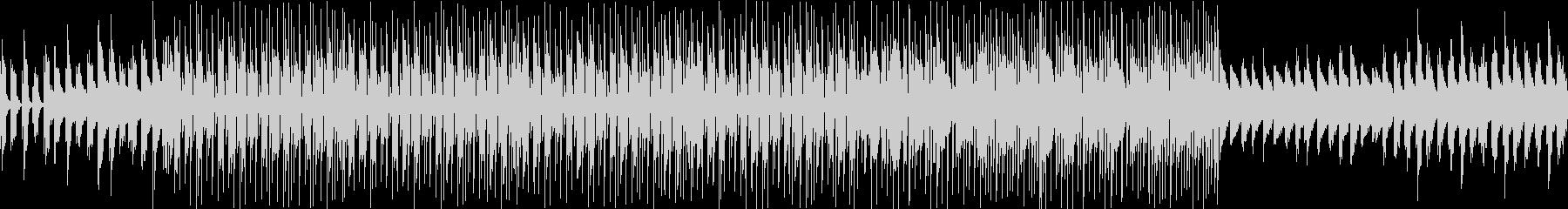 16Beat shuffle BGMの未再生の波形
