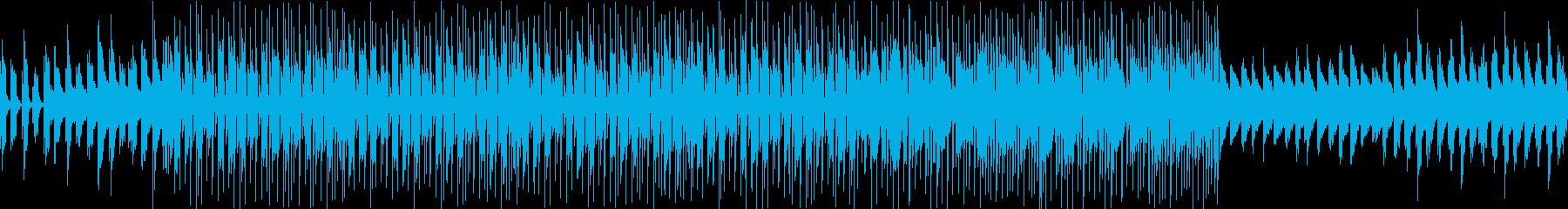 16Beat shuffle BGMの再生済みの波形