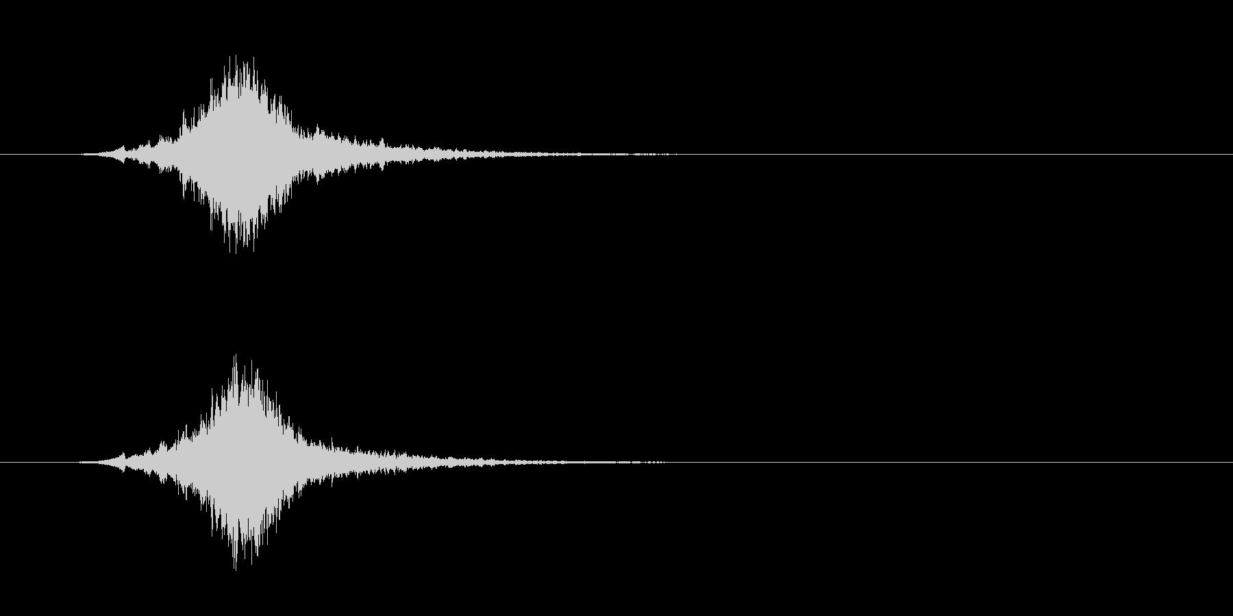 クリスマス シャリーンというベルの音#2の未再生の波形