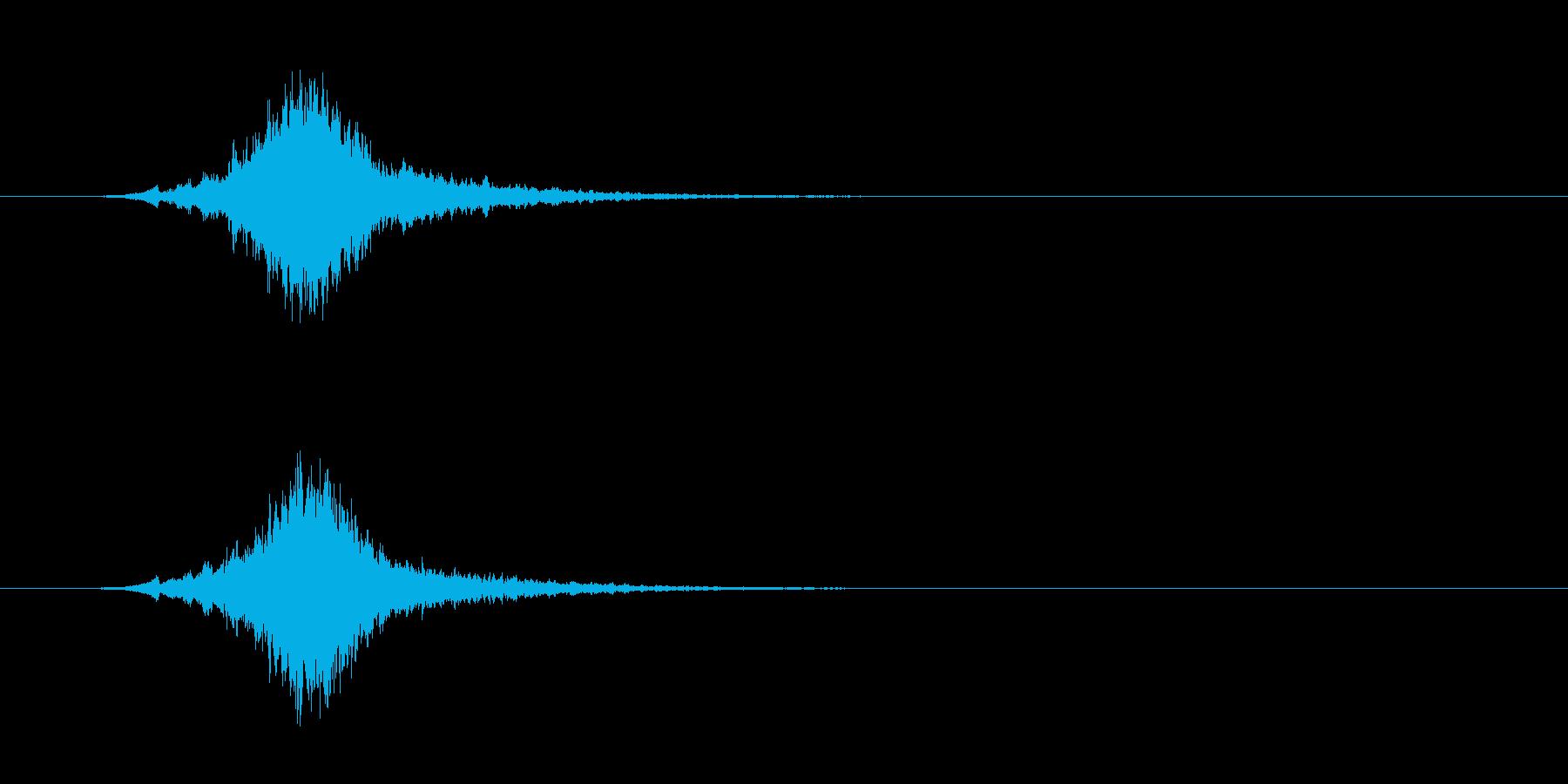 クリスマス シャリーンというベルの音#2の再生済みの波形