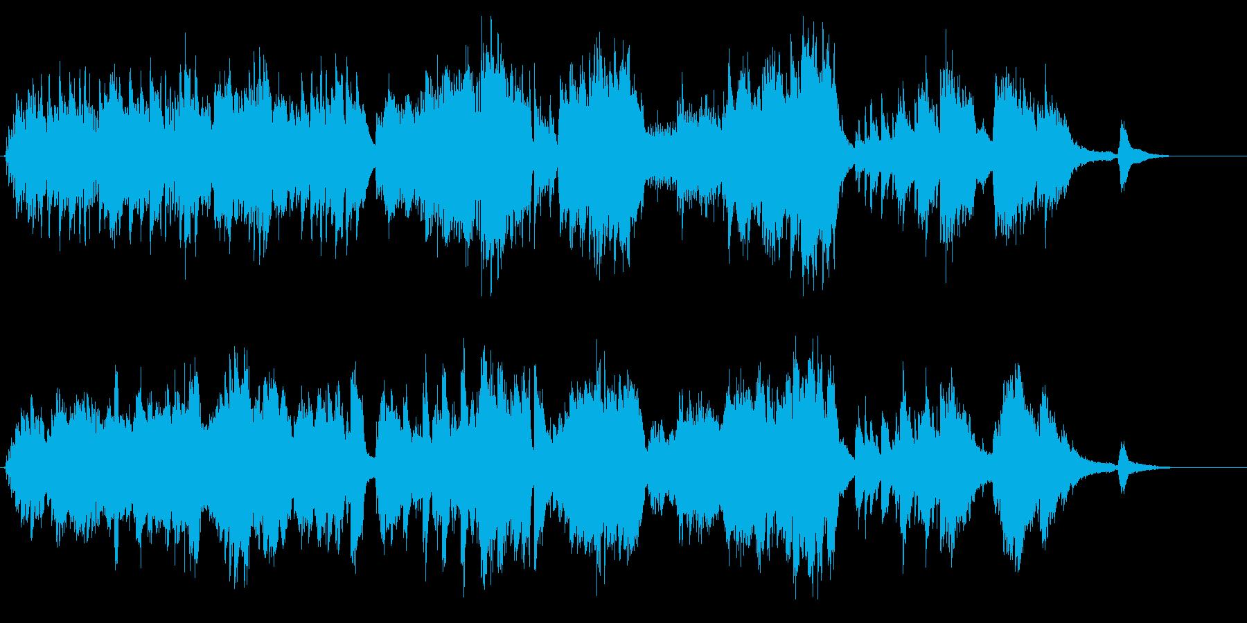 生ピアノで奏でる美しい日本の歌:春の小川の再生済みの波形