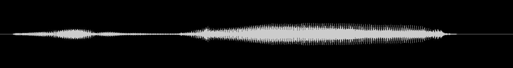 ブッブー(4歳の男の子)の未再生の波形