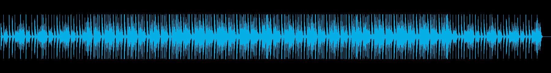 手拍子とピッチカート ウキウキなBGM②の再生済みの波形