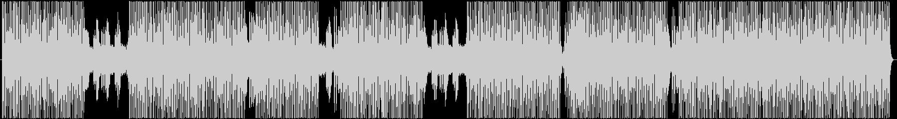 ダークで響きが特徴的なメロディーの未再生の波形