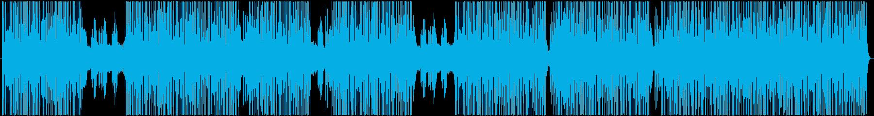 ダークで響きが特徴的なメロディーの再生済みの波形