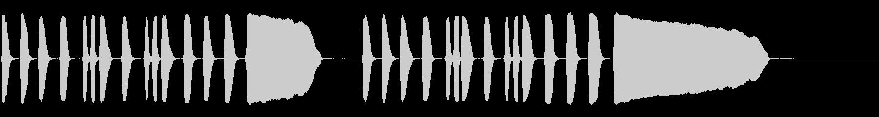 トランペット:トラックへのアクセン...の未再生の波形