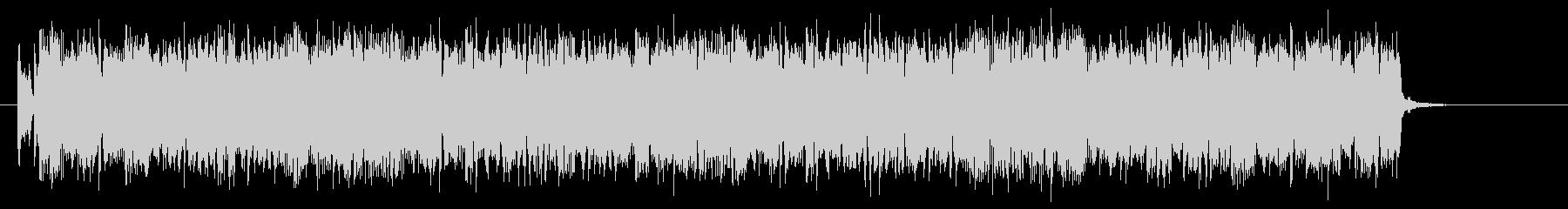 パンクハードで不思議なシンセジングルの未再生の波形