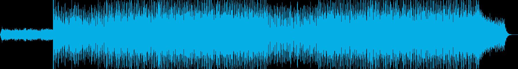 ニュース映像ナレーションバック向け-24の再生済みの波形