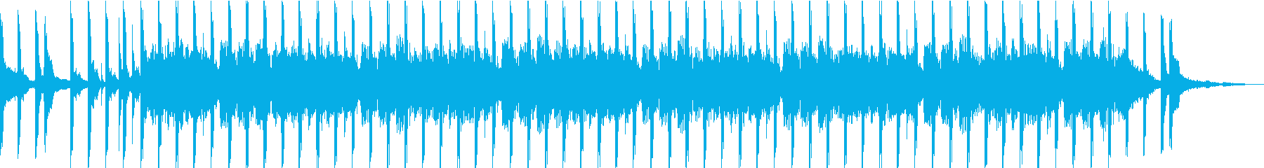 ホリデー/バカンスの雰囲気のある明...の再生済みの波形