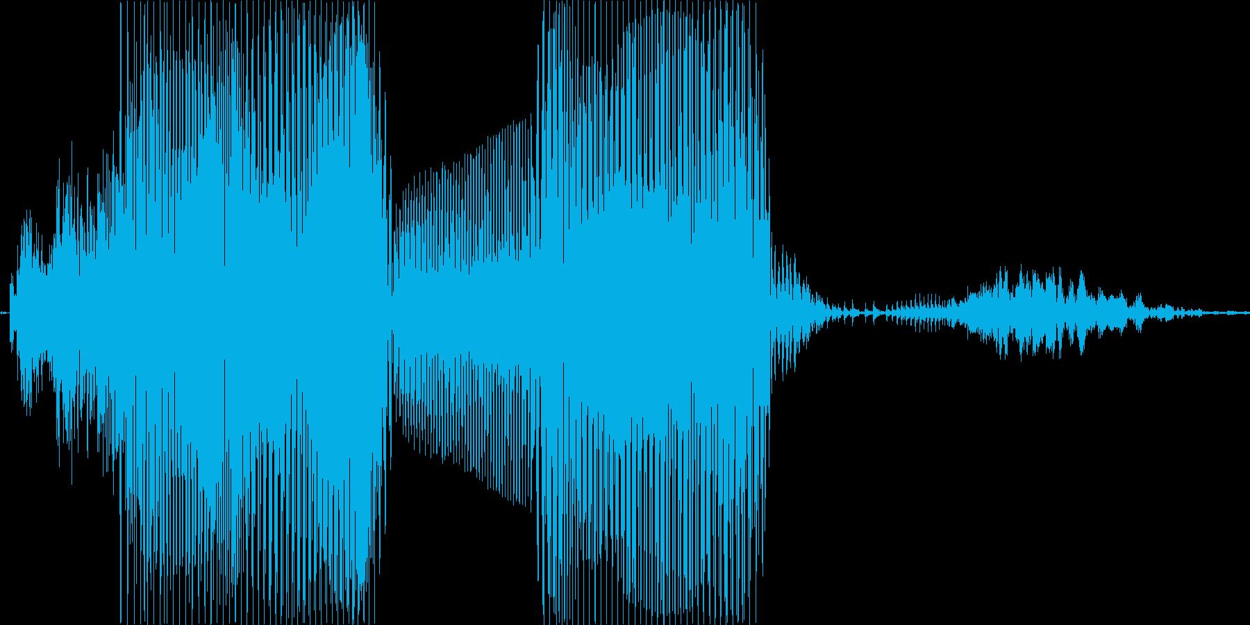 タイムアップ!の再生済みの波形