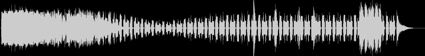 トーンシンセウォブルプロセスサステインの未再生の波形