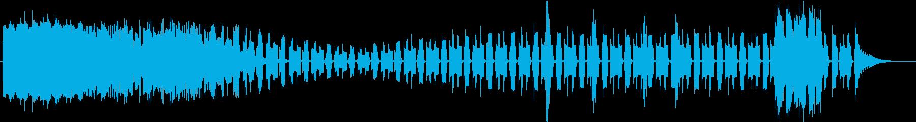 トーンシンセウォブルプロセスサステインの再生済みの波形