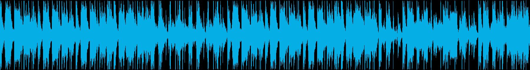 HIPHOP SOUL track1の再生済みの波形