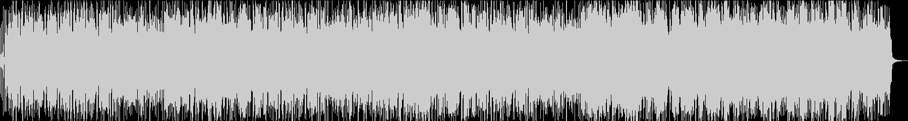 マイナーキーのメランコリックポップの未再生の波形