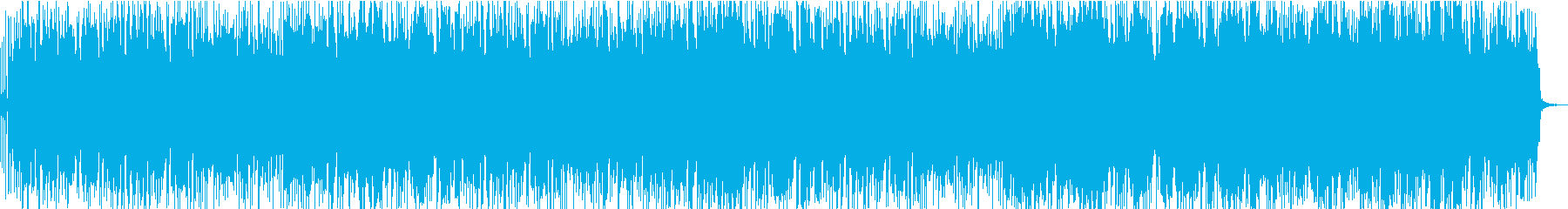 マイナーキーのメランコリックポップの再生済みの波形
