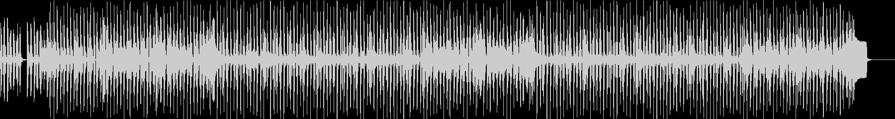 フルートを使ったルンルンとした温かい曲の未再生の波形
