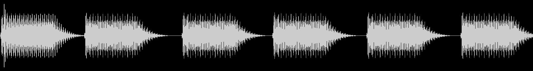 往年のRPG風 セリフ・吹き出し音 5の未再生の波形