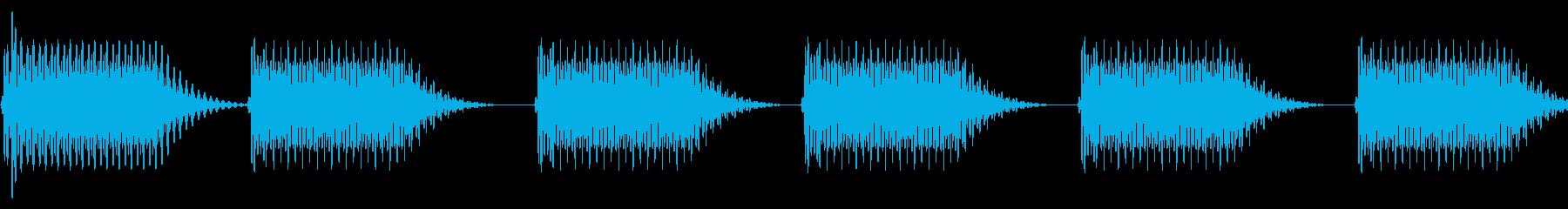 往年のRPG風 セリフ・吹き出し音 5の再生済みの波形