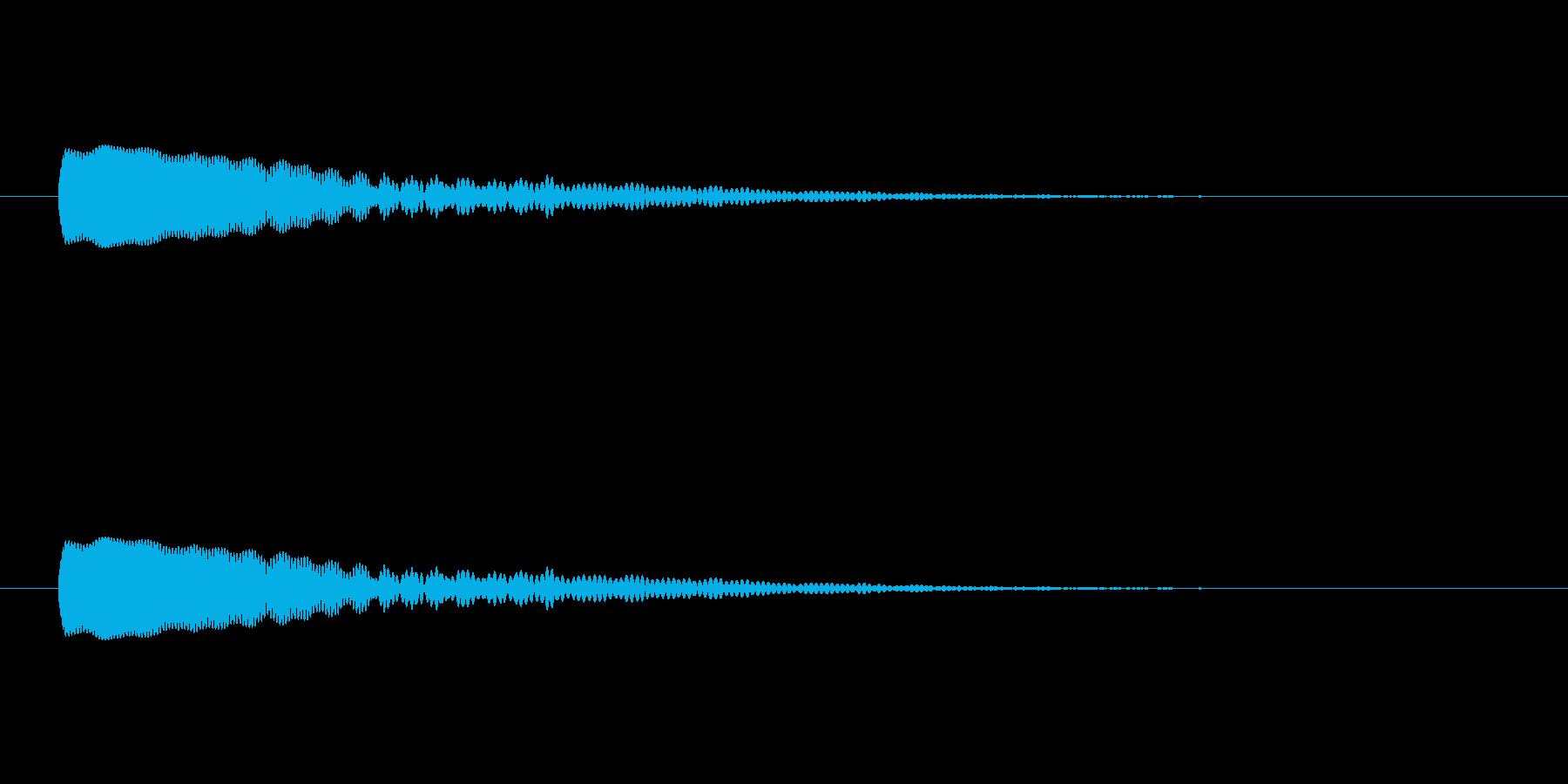 【光る04-1】の再生済みの波形