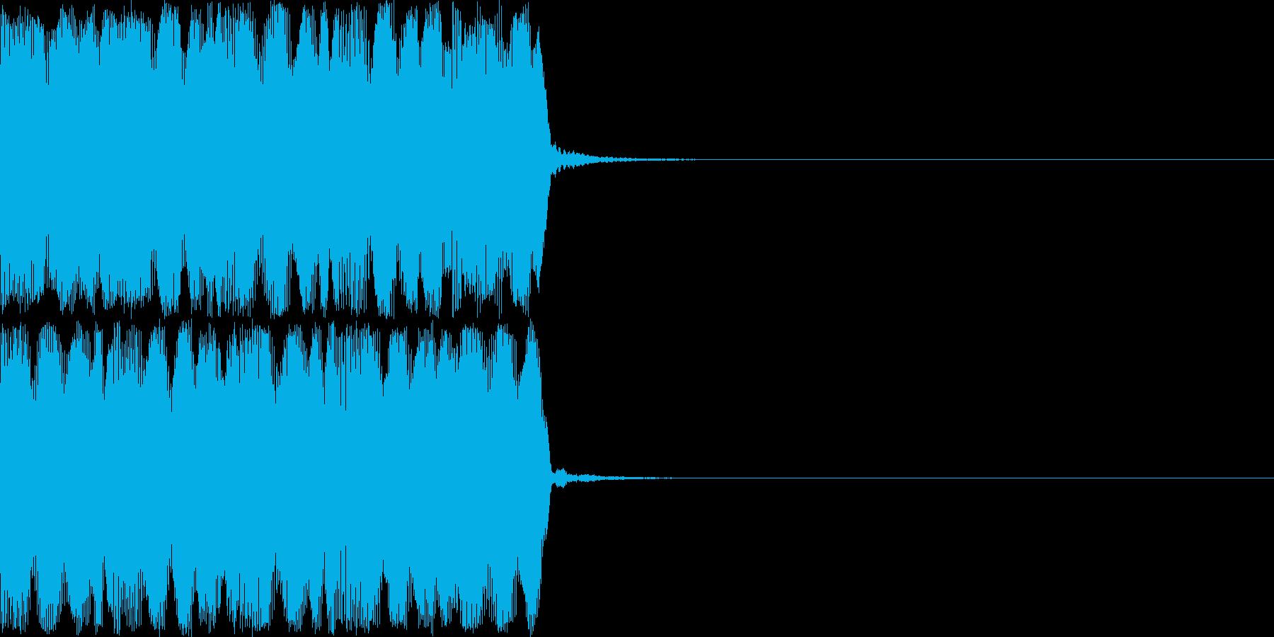 ドューンドューンドューン (避難音)の再生済みの波形